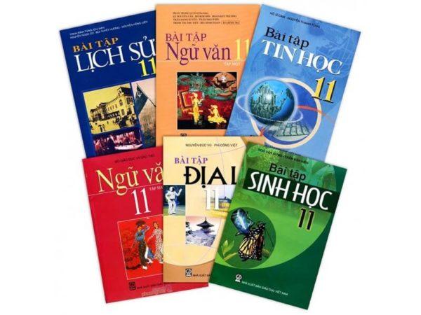 Bộ sách giáo khoa và sách bài tập lớp 11 ban A, B, C, D