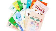 Bộ sách giáo khoa và sách bài tập lớp 3 năm học 2017 - 2018