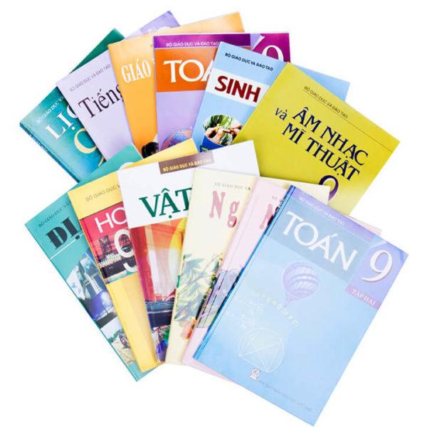 Bộ sách giáo khoa và sách bài tập lớp 9 năm học 2017 – 2018